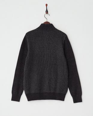 JTMU(ブラック系) Sweaters・LS JASON PLAITED FULL ZIP SWTR見る