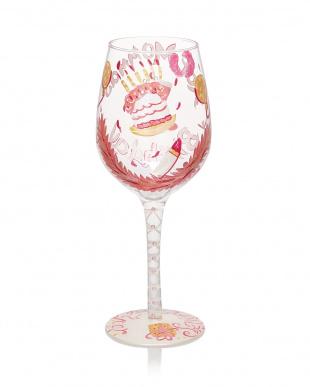 HOT MOMMA'S BIRTHDAY ワイングラスを見る