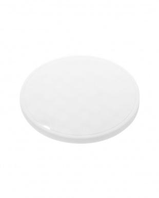 ホワイトシリコン鍋敷き アクア 丸型を見る