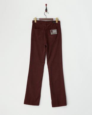BROWN バーガンディブラウン ボタンフライCorduroy Pantsを見る
