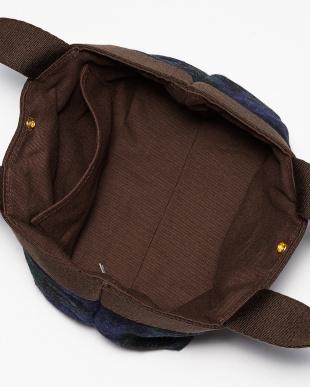 レッド Harris Tweed Canvas Bag(S)を見る