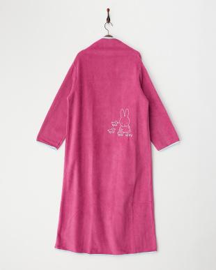 ピンク 着る毛布ジュニアNuKME ブルーナ『miffy』見る