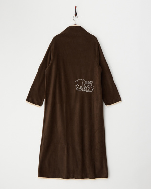 ブラウン 着る毛布ジュニアNuKME ブルーナ『miffy』を見る