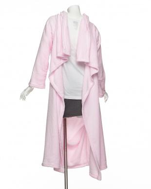 ピンク クッションになる着る毛布を見る