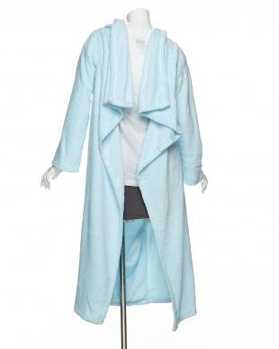 ブルー クッションになる着る毛布を見る
