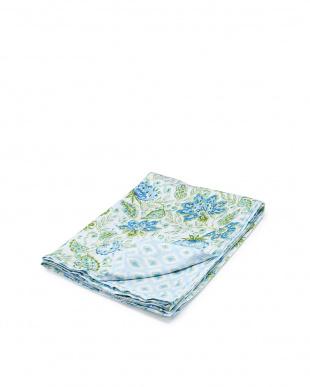 ブルー Ikat 掛け布団カバー DLサイズを見る