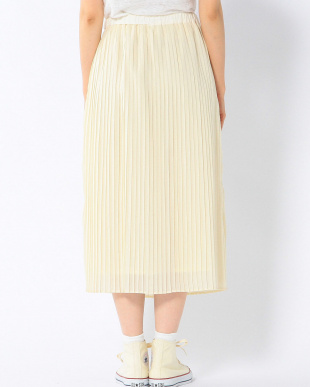 CREAM G PE LONG PLEATS SKを見る