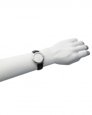 シルバーカラー×ブラック×シルバーカラー T-1602 腕時計 A見る