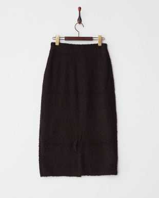 クロ ループヤーンニットスカート見る