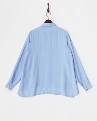 SKY BLUE BACH Shirt・シルク混見る