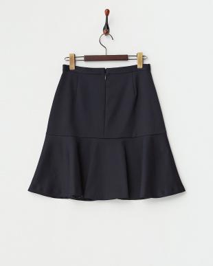 ネイビー マーメイドスカート見る