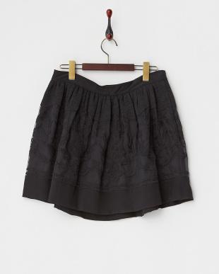noir 刺繍切り替えスカートを見る