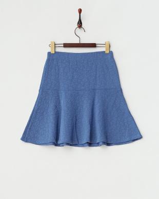 92 ブルー 切り替えフレアスカートを見る