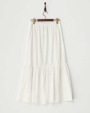 0 ホワイト ウレタンコーティングカット2WAYスカートを見る