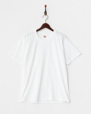 ホワイト 吸水速乾 クルーネックTシャツ 2枚組を見る