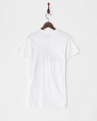 ホワイト リゾートプリントロングTシャツを見る