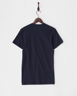 ネイビー リゾートプリントロングTシャツを見る