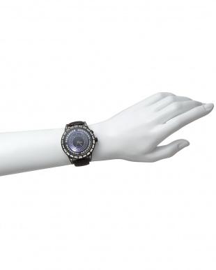 ホワイト×ブラック 腕時計 RM006-1477 Dazzle見る
