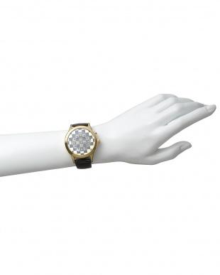 ブラック×ゴールド 腕時計 RM052-0314ST Fashioncode│UNISEX見る