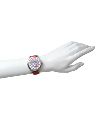 レッド×ホワイト 腕時計 RM052-0314ST Fashioncode│UNISEX見る