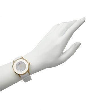 ゴールド×ホワイト 腕時計 RM068-0053 NUMERATION│WOMEN見る