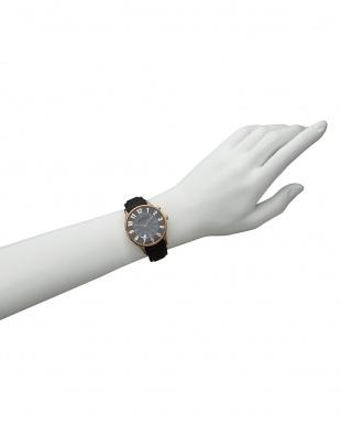 ブラック×ピンクゴールド 腕時計 RM068-0053 NUMERATION│WOMEN見る