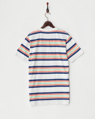 MULTI マルチボーダークルーネックTシャツを見る