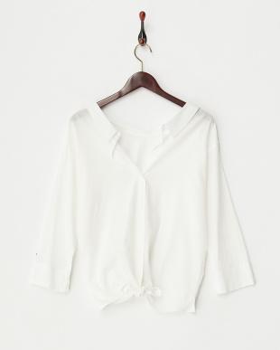 オフホワイト 2WAYシャツを見る