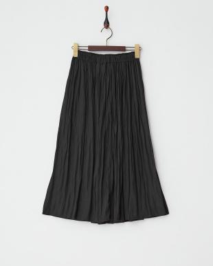 ブラック ギャザースカートを見る