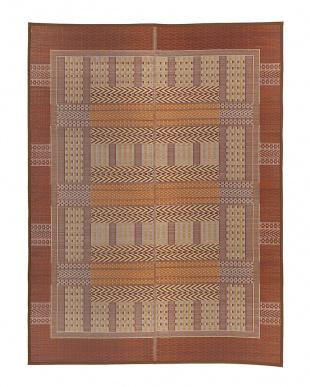 ブラウン オリエンタル 国産い草ラグ(裏貼り)  191×250cmを見る