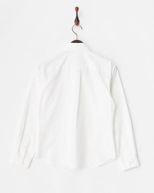 white 60/2オックスBDシャツ見る