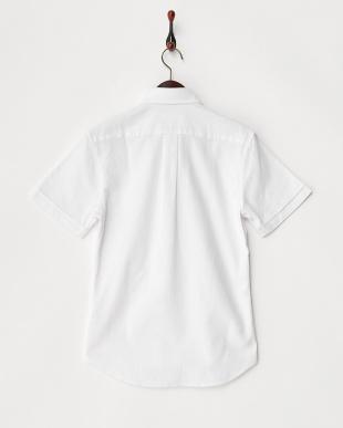 ホワイト B:カラミBD-DSH H/S シャツ見る
