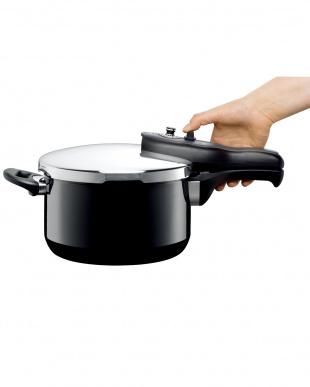 ブラック tプラス圧力鍋2.5L見る