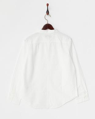 01 WHITE B:ボーダーメッシュシャツ見る