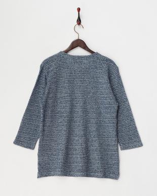 200 撚り杢タック編み プルオーバー見る