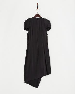 MARILYN パフ風スリーブサテンアシメ DRESSを見る