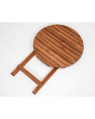 折りたたみ式 アカシアテーブル 60×60×71.5cmを見る