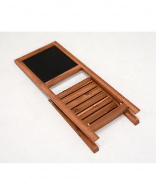 折りたたみ式 黒板スタンド 30×35.5×68cmを見る