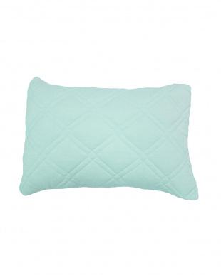 ブルー [低め]FEEL COOL 抗菌防臭・消臭わた入り ひんやり接触冷感枕を見る