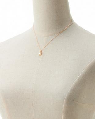 アコヤ K18×ダイヤ アコヤパール付きツイストモチーフネックレスを見る