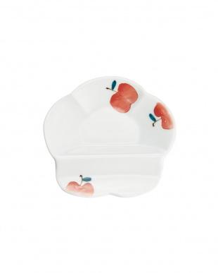 りんご唐草 組箸置付小皿を見る
