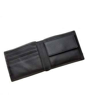 ブラック カードポケット×7 二つ折り財布を見る