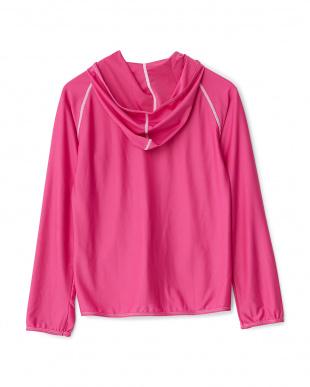 ピンク ラッシュガード 長袖パーカ|WOMENを見る