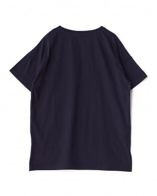 ネイビー レディス アーチロゴTシャツを見る