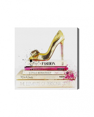 GOLD SHOE AND FASHION BOOKS 83.8×83.8cmを見る