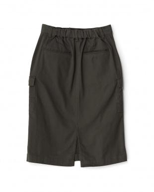 チャコール カーゴタイトスカートを見る