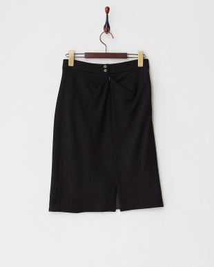 BLACK タックデザイン微起毛スカートを見る