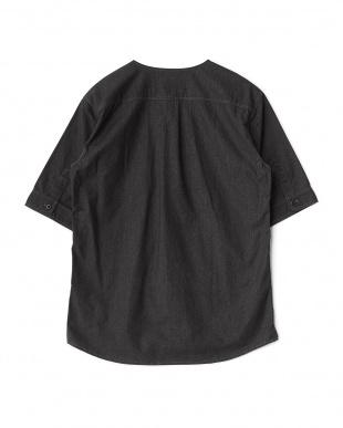 ブラック ベースボールシャツ見る