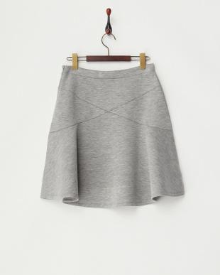 グレー DOPPIARE ボンディングスカートを見る