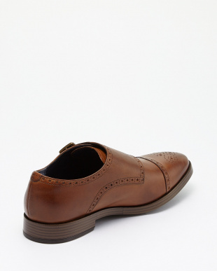 BRITISH TAN JEFFERSON GRAND DOUBLE MONK II見る